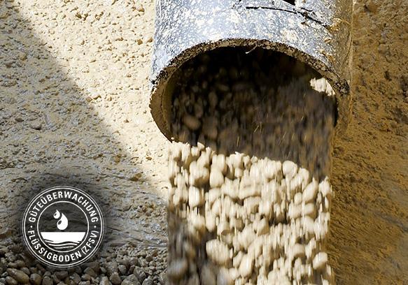 Flüssigboden Überwachung Zertifizierung