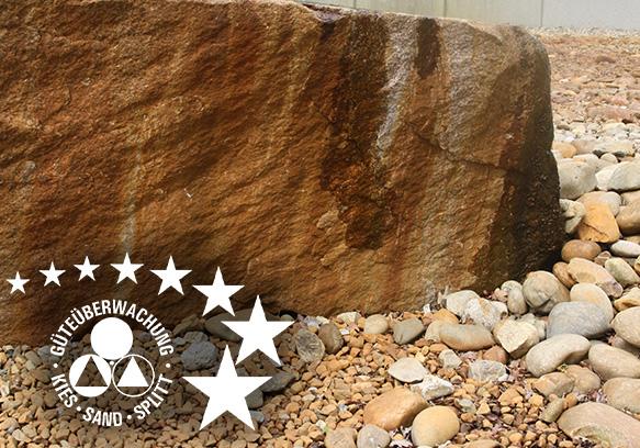 Gesteinskörnungen Kies Natursplitt Überwachung Zertifizierung